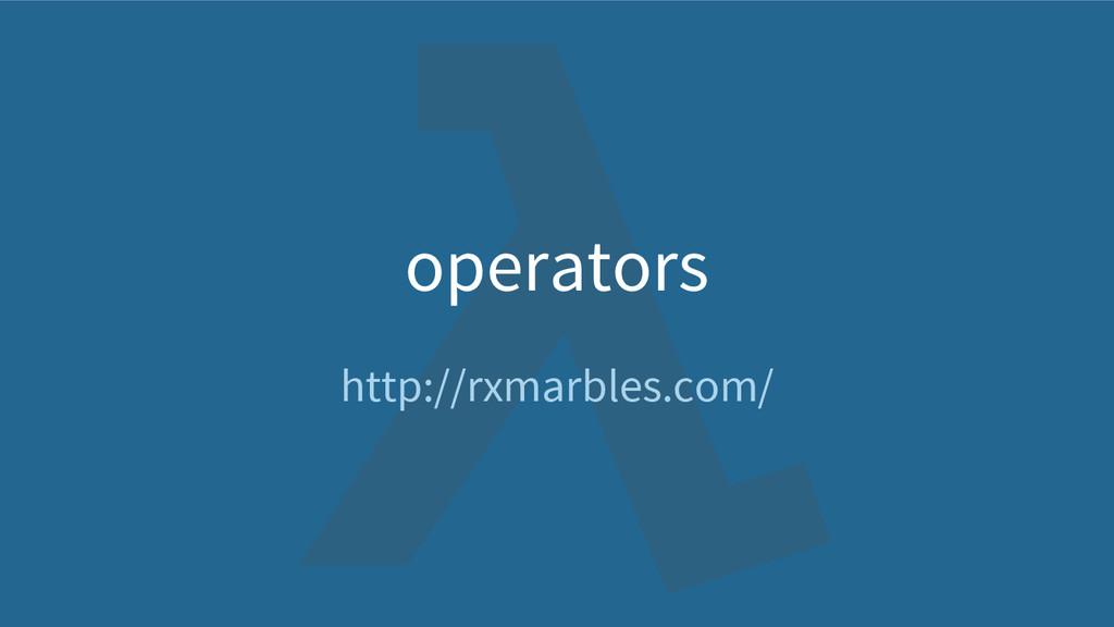 operators http://rxmarbles.com/