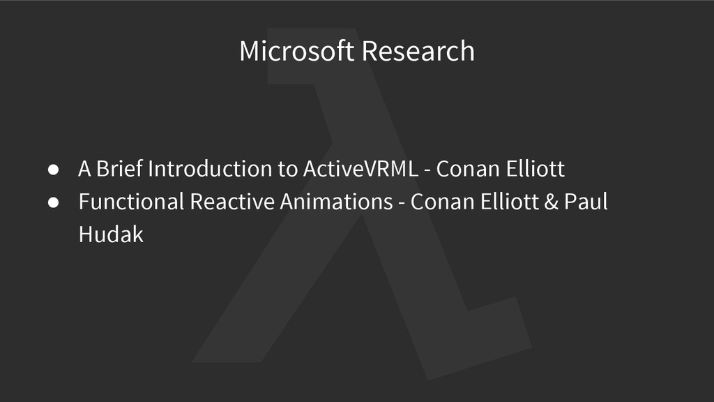 Microsoft Research ● A Brief Introduction to Ac...