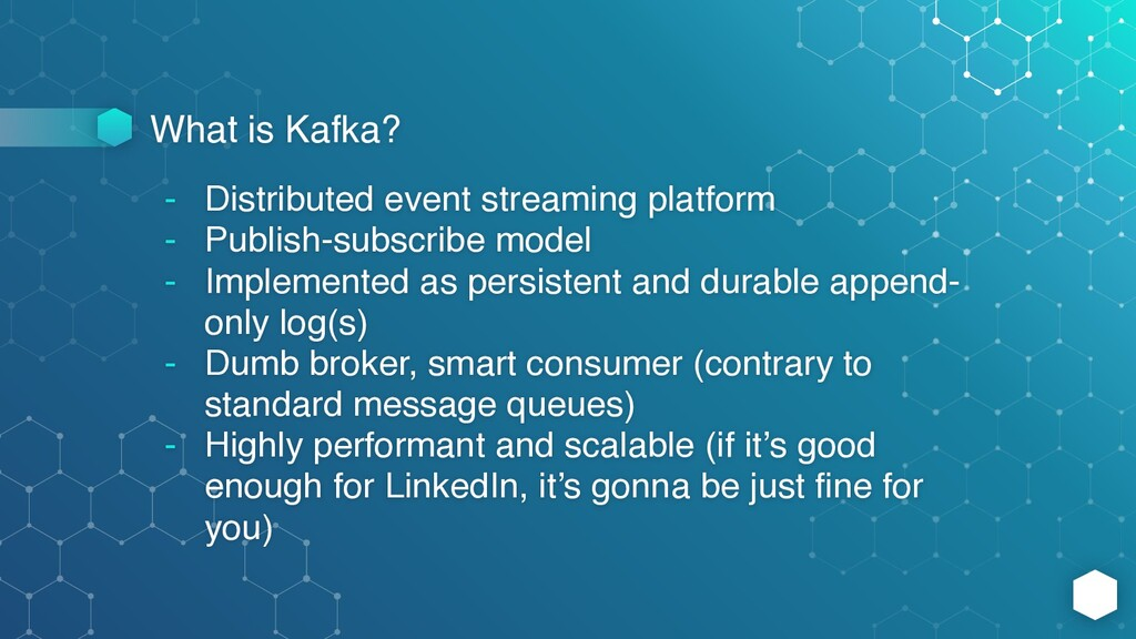 What is Kafka? - Distributed event streaming pl...