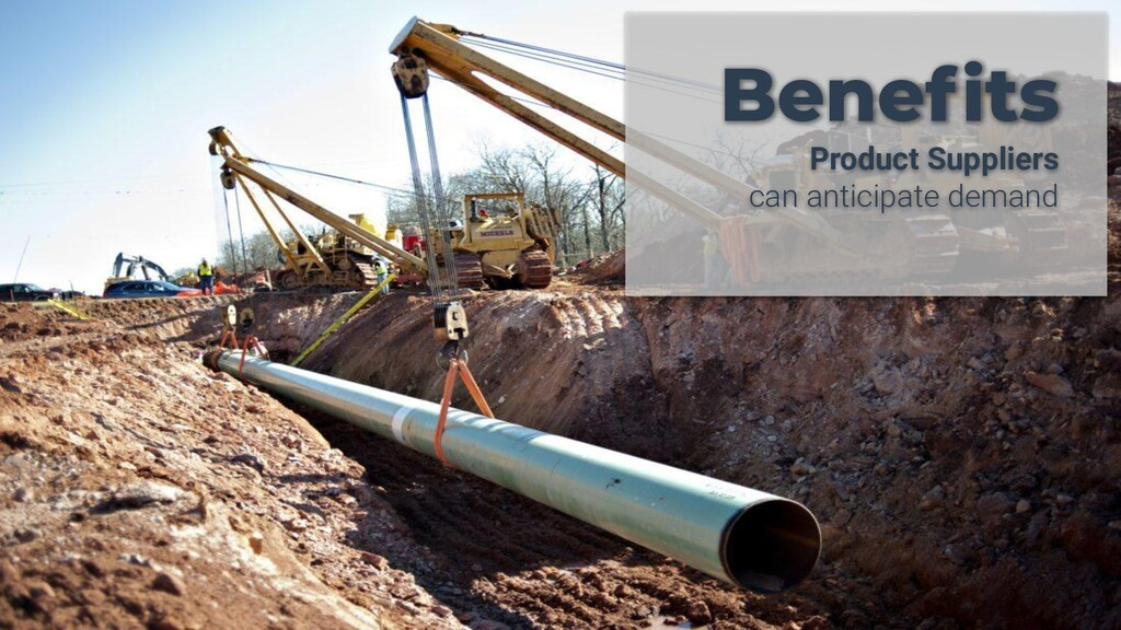 Benefits Product Suppliers can anticipate demand