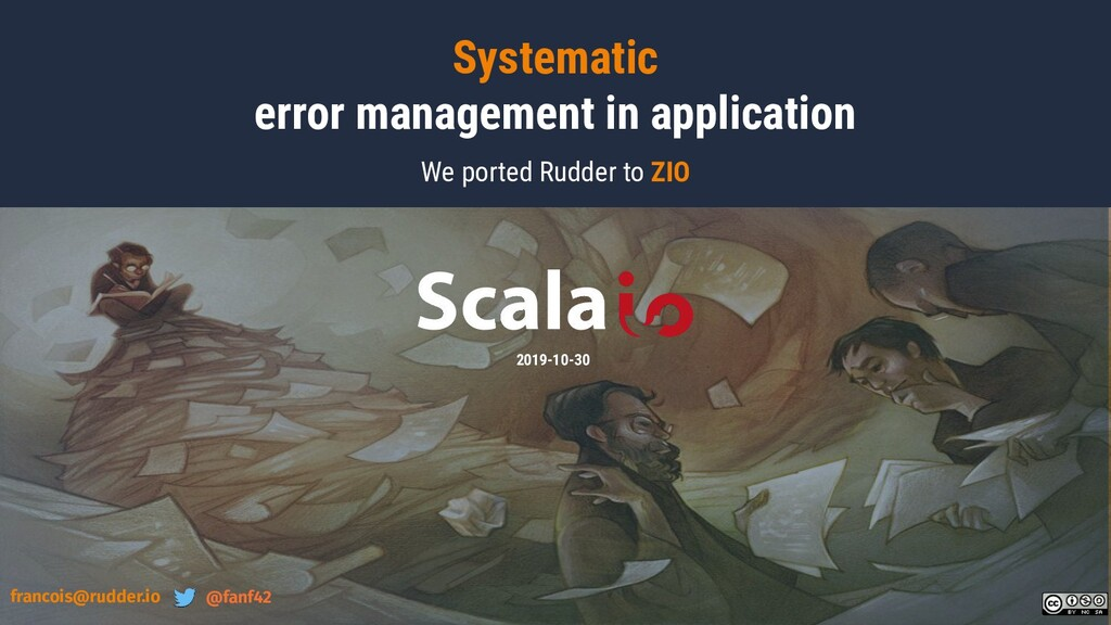 Systematic error management in application We p...