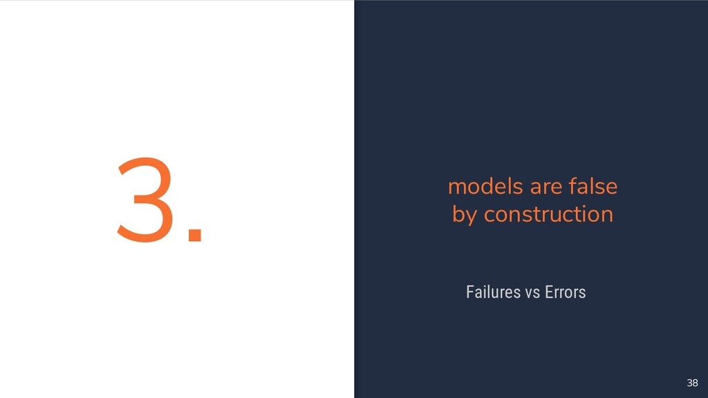3. 38 models are false by construction Failures...