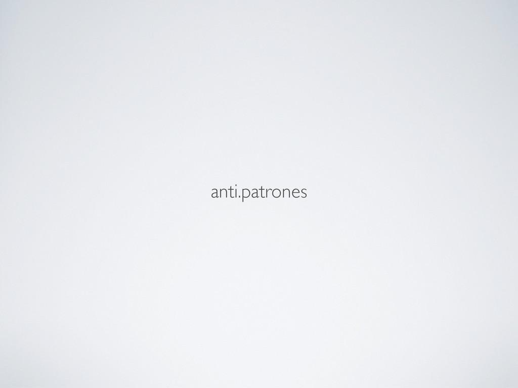 anti.patrones