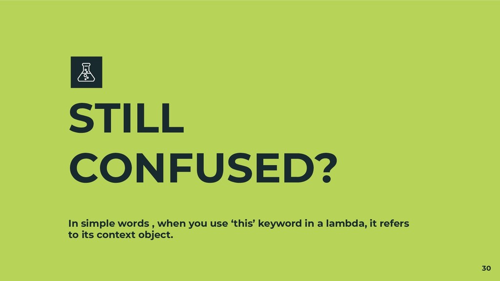 In simple words , when you use 'this' keyword i...