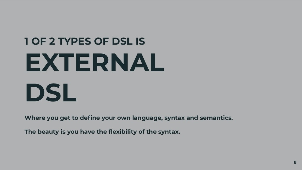 1 OF 2 TYPES OF DSL IS EXTERNAL DSL Where you g...