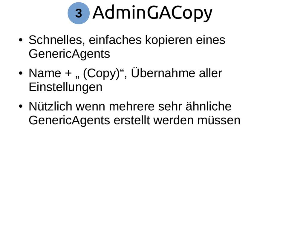 AdminGACopy 3 ● Schnelles, einfaches kopieren e...