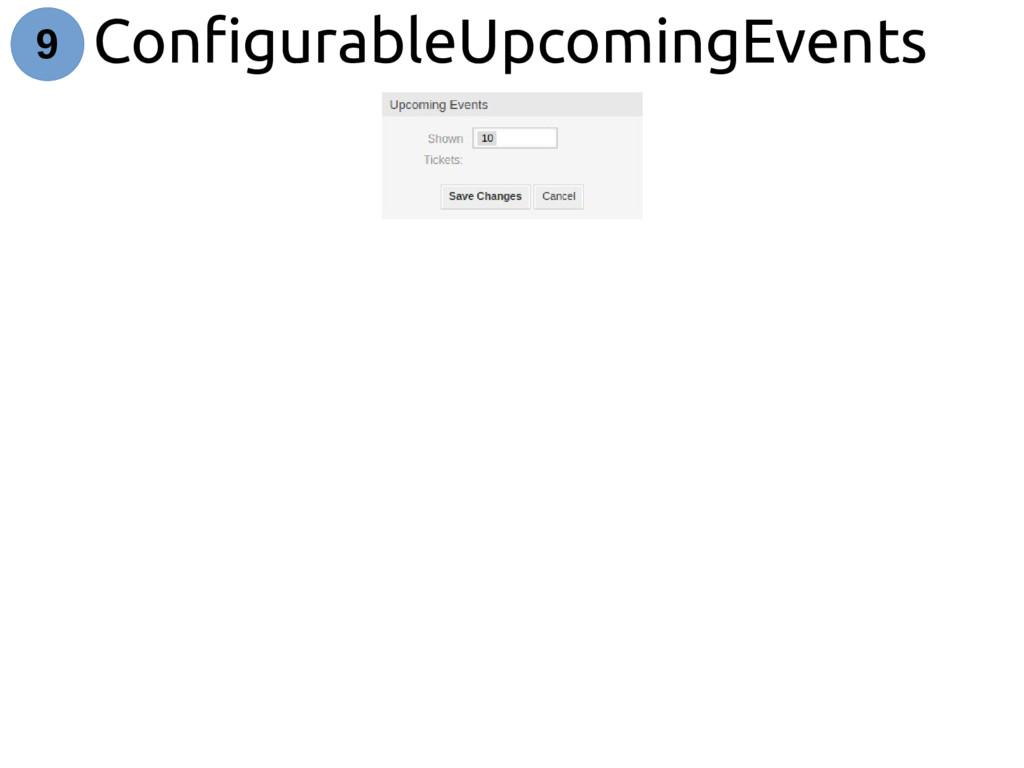 ConfigurableUpcomingEvents 9