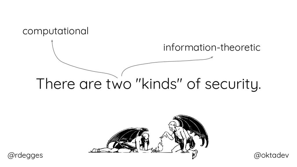 "@rdegges @oktadev There are two ""kinds"" of secu..."
