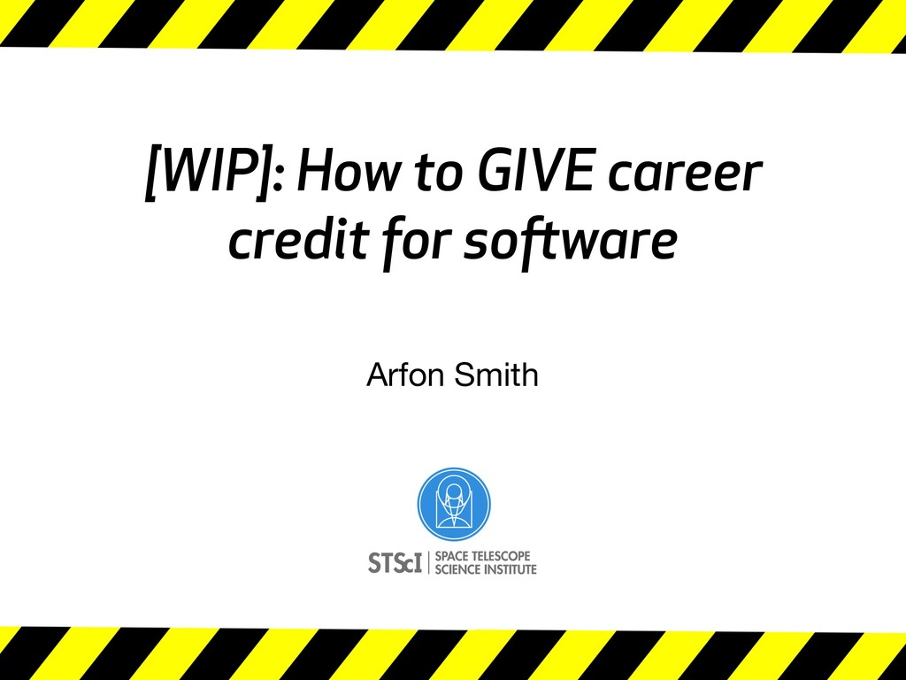 [WIP]: How to GIVE career credit for software A...