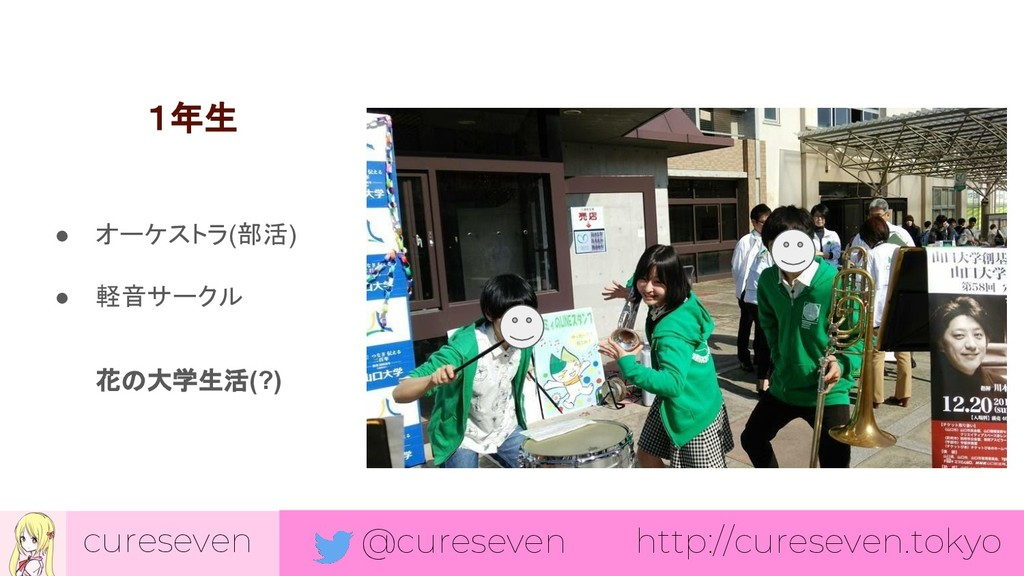 cureseven @cureseven http://cureseven.tokyo 1年生...