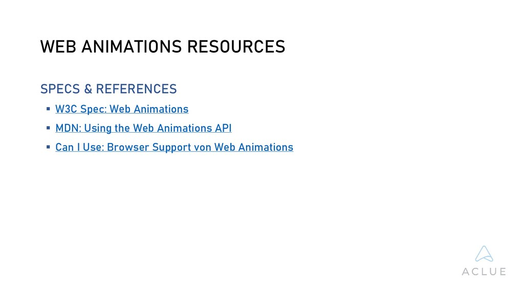 WEB ANIMATIONS RESOURCES SPECS & REFERENCES  W...