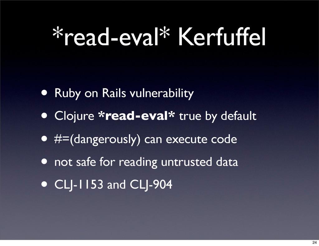*read-eval* Kerfuffel • Ruby on Rails vulnerabi...