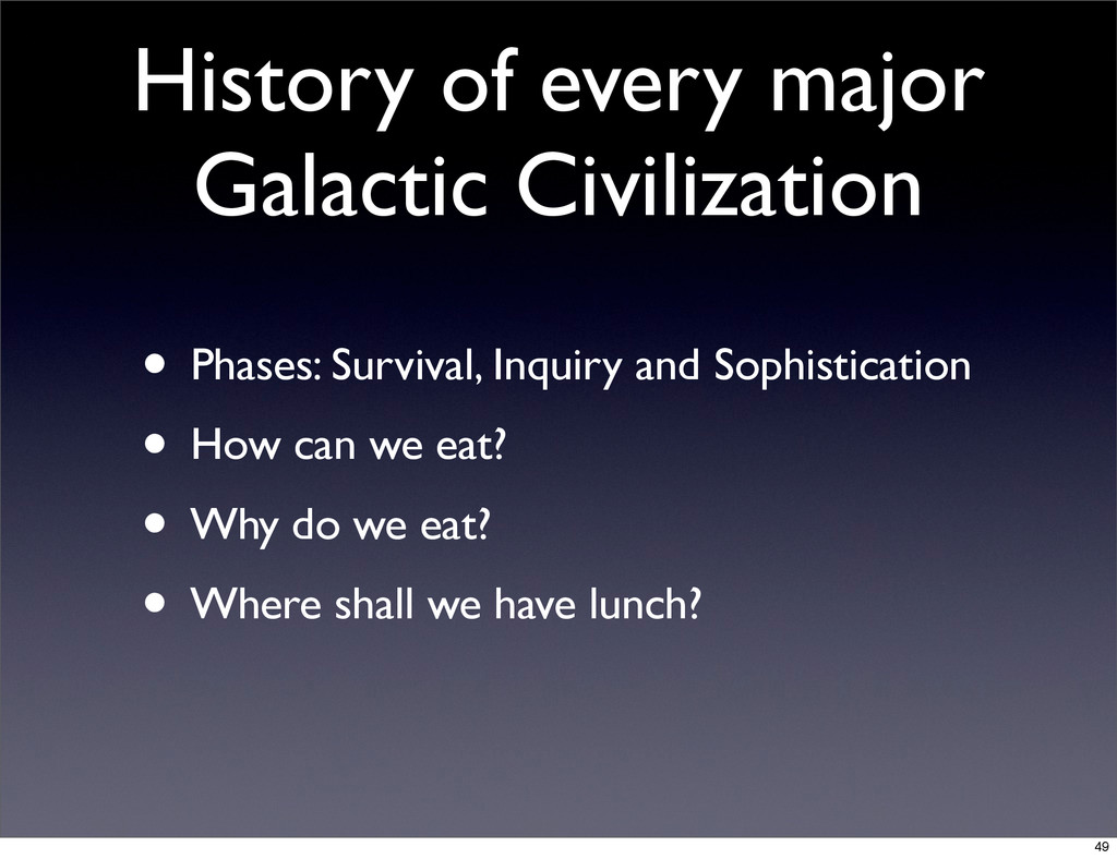 History of every major Galactic Civilization • ...