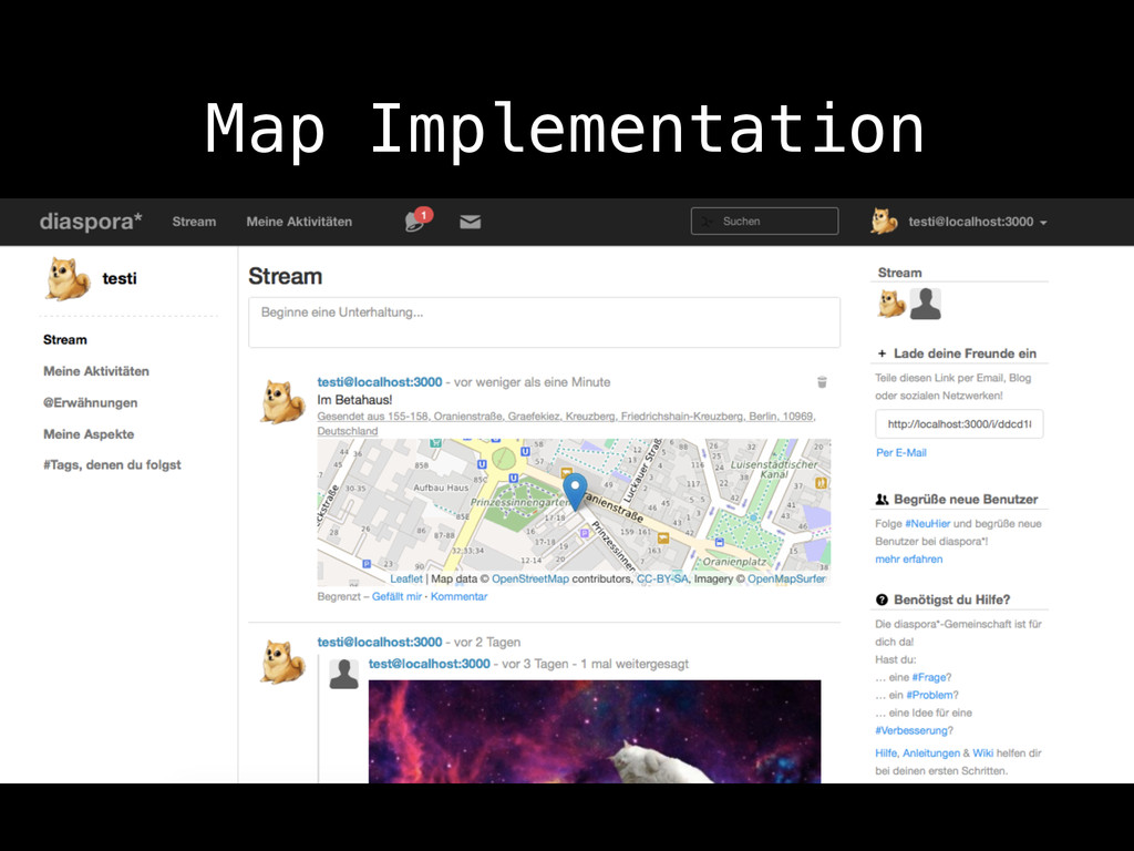 Map Implementation