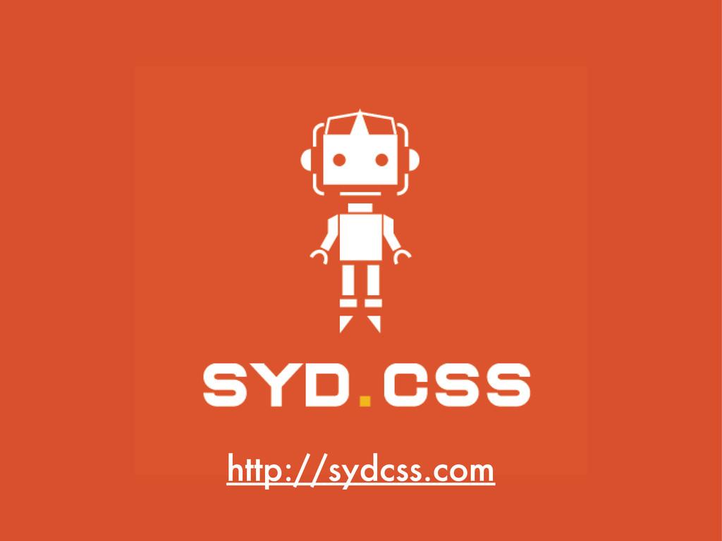 http://sydcss.com