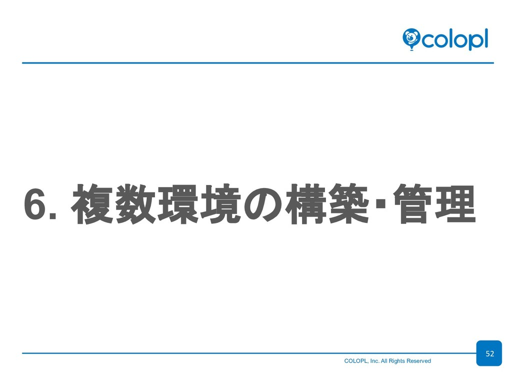 COLOPL, Inc. All Rights Reserved 6. 複...