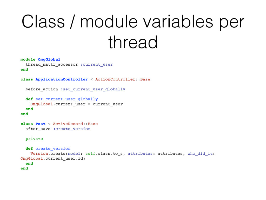 Class / module variables per thread module OmgG...