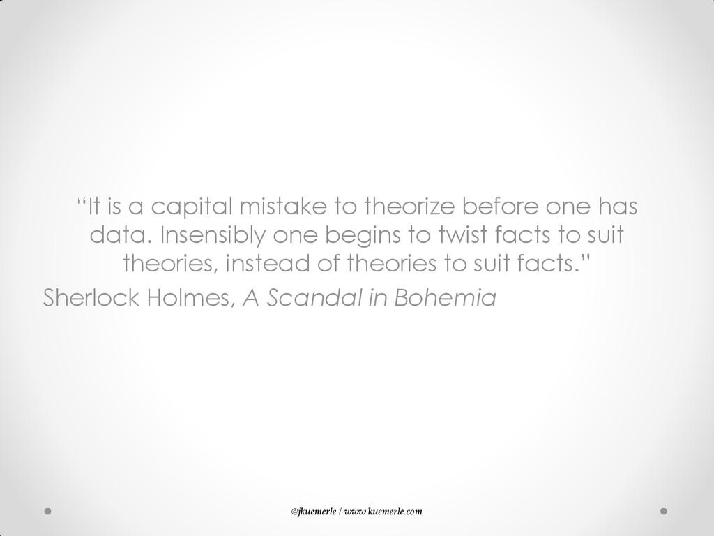 """@jkuemerle / www.kuemerle.com """"It is a capital ..."""