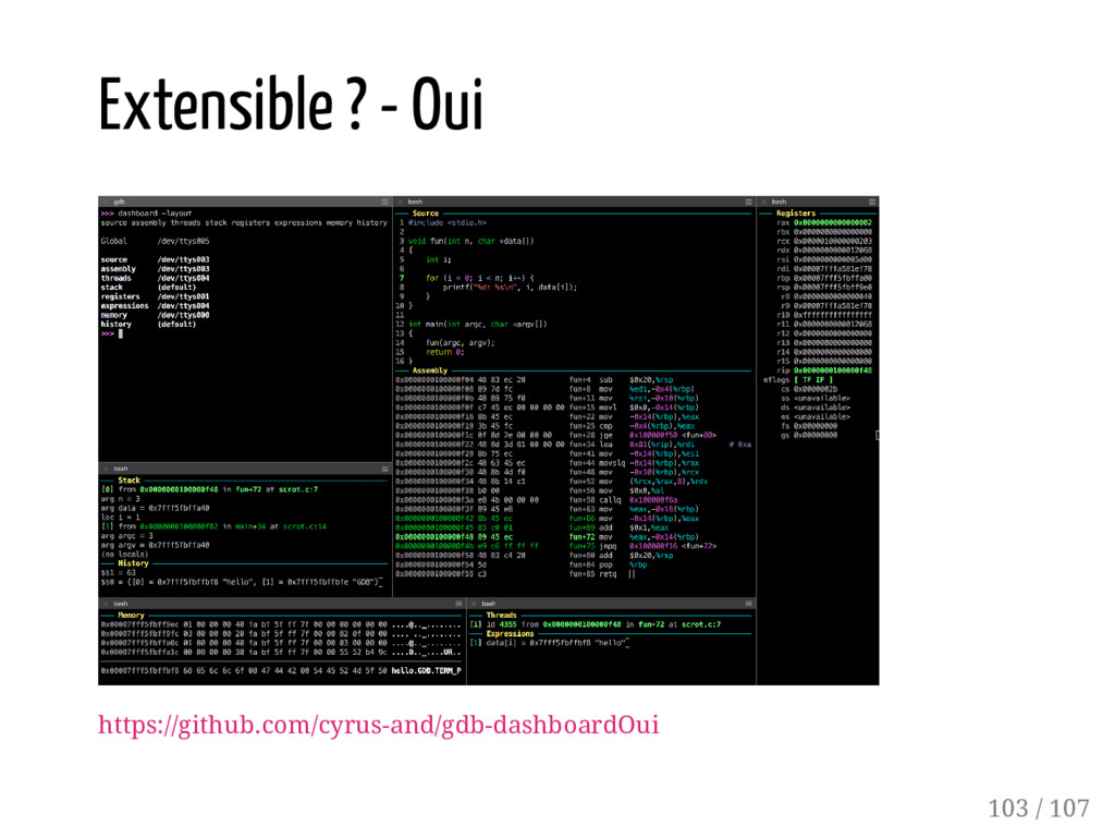 Extensible ? - Oui https://github.com/cyrus-and...