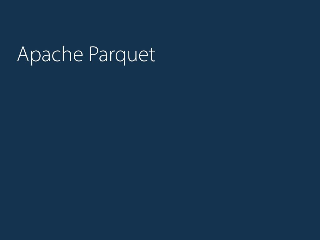 Apache Parquet