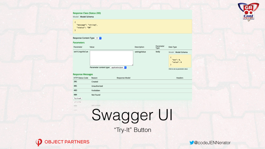 """@codeJENNerator Swagger UI """"Try-It"""" Button"""