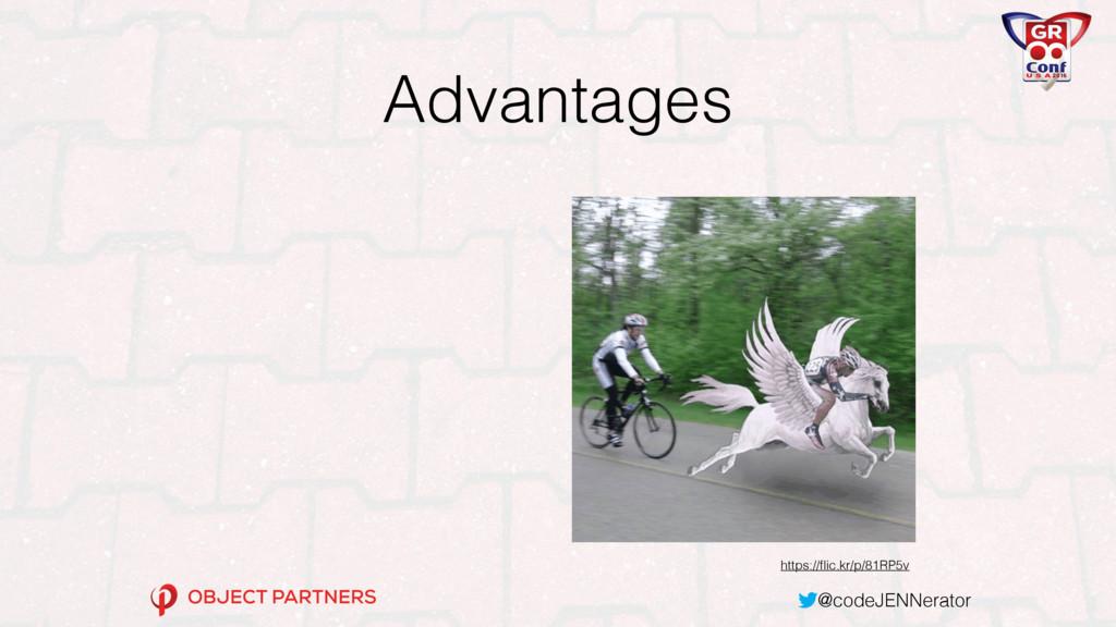 @codeJENNerator Advantages https://flic.kr/p/81R...