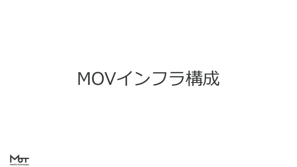 MOVインフラ構成