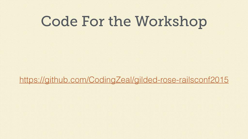Code For the Workshop https://github.com/Coding...