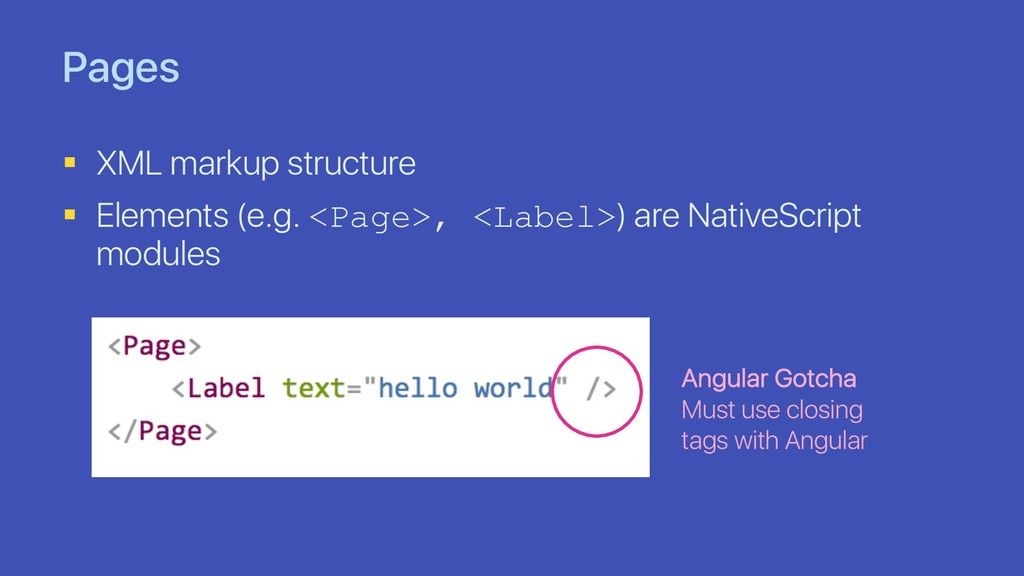 Pages § XML markup structure § Elements (e.g. <...