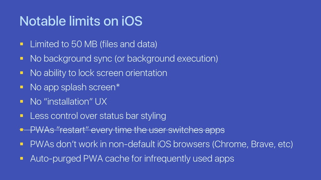 Notable limits on iOS § Limited to 50 MB (files...