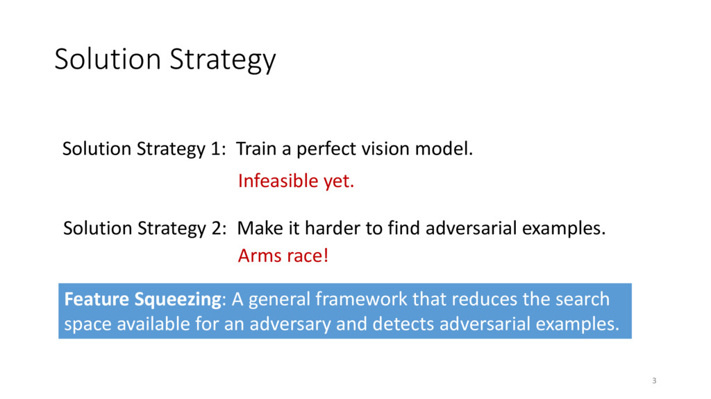 Solution Strategy 3 Solution Strategy 1: Train ...