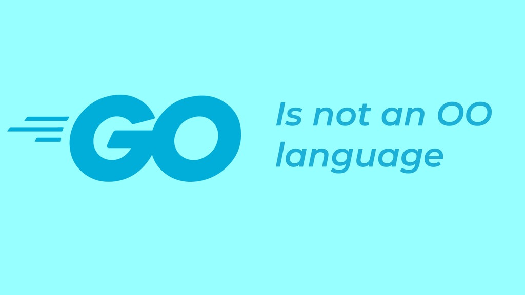 Is not an OO language