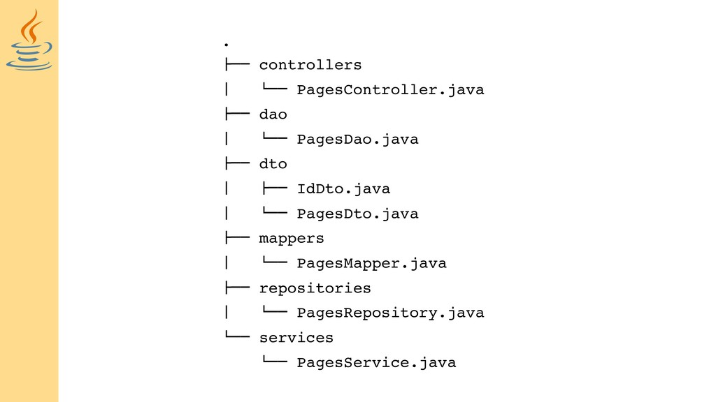 ". !"""" controllers # $"""" PagesController.java !""..."
