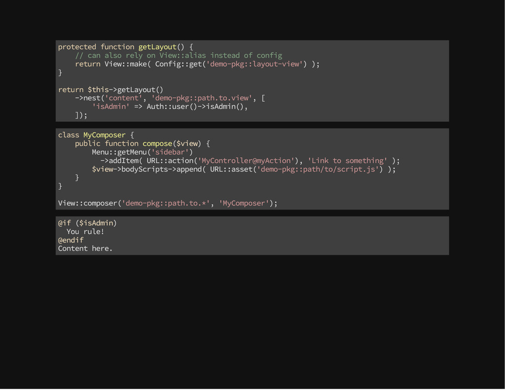 protected function getLayout() { // can also re...