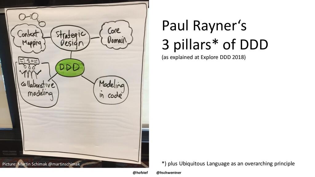 @hofstef @hschwentner Paul Rayner's 3 pillars* ...