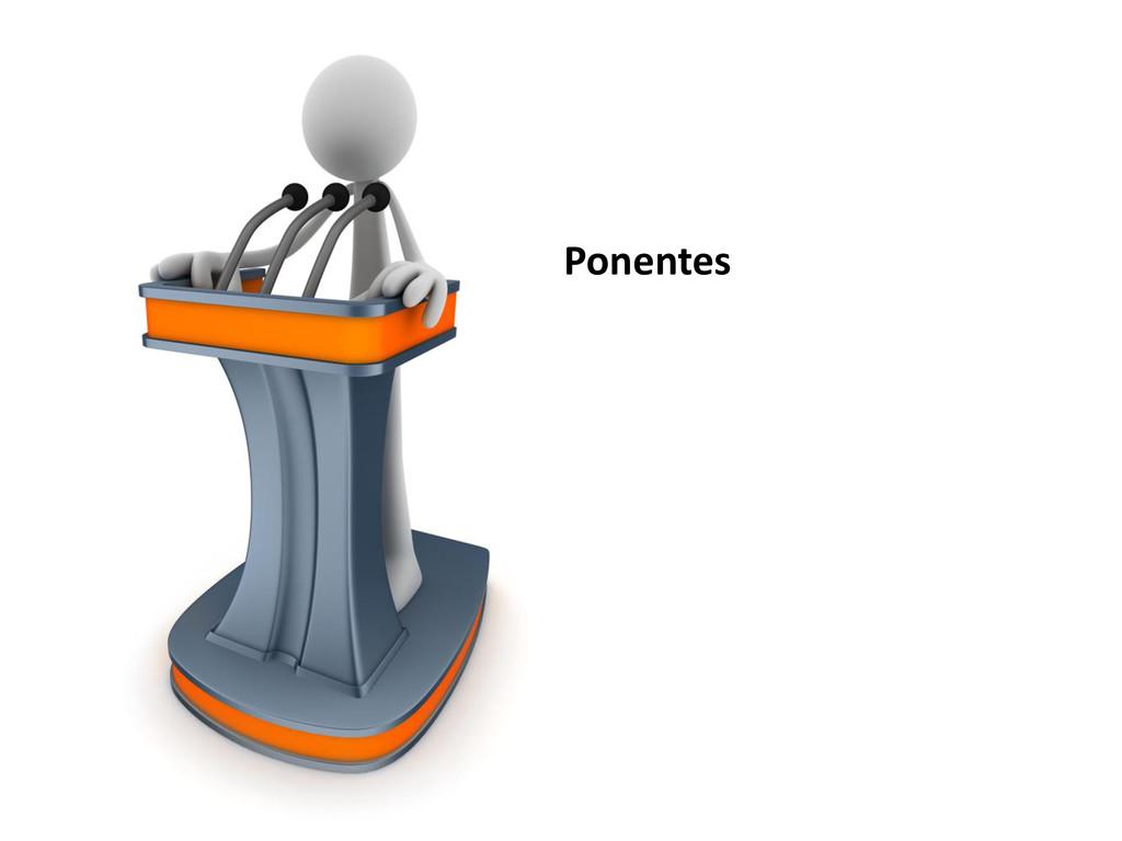 Ponentes