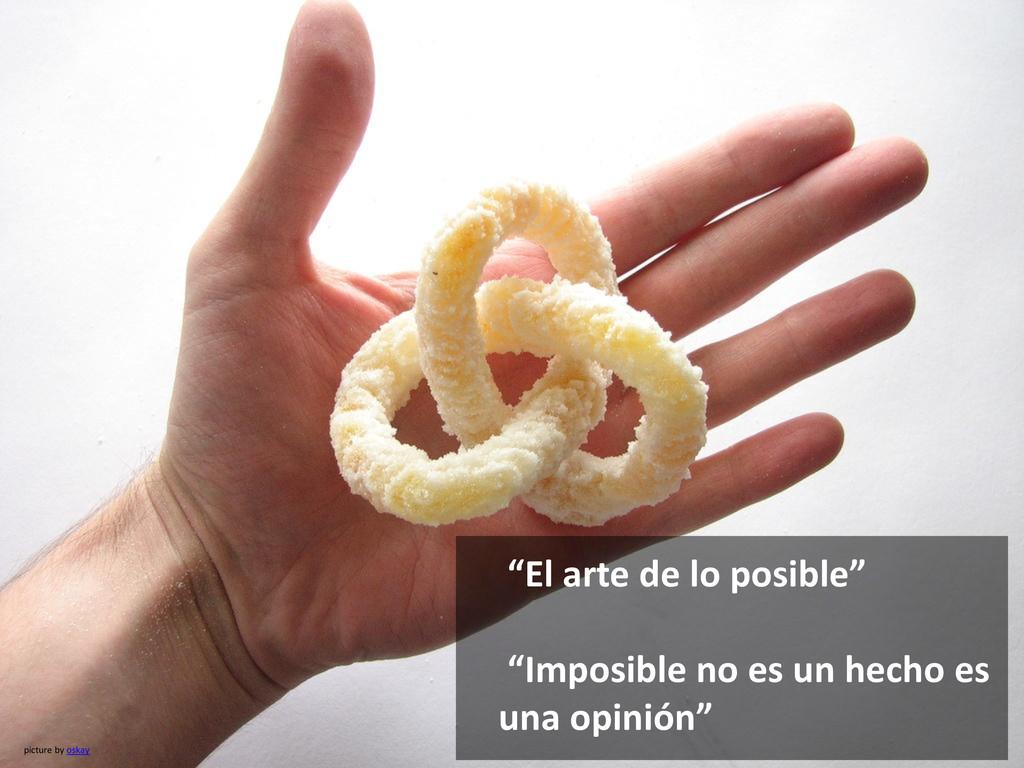 """picture by oskay """"El arte de lo posible"""" """"Impos..."""