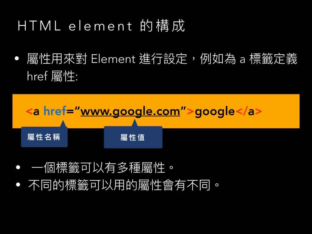 H T M L e l e m e n t ጱ 䯤 ౮ • 痀አ㬵䌘 Element 蝱ᤈ戔...