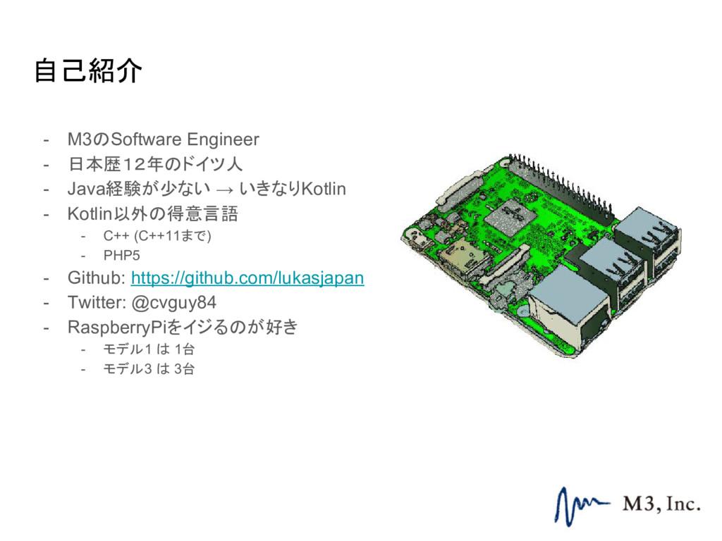 自己紹介 - M3のSoftware Engineer - 日本歴12年のドイツ人 - Jav...