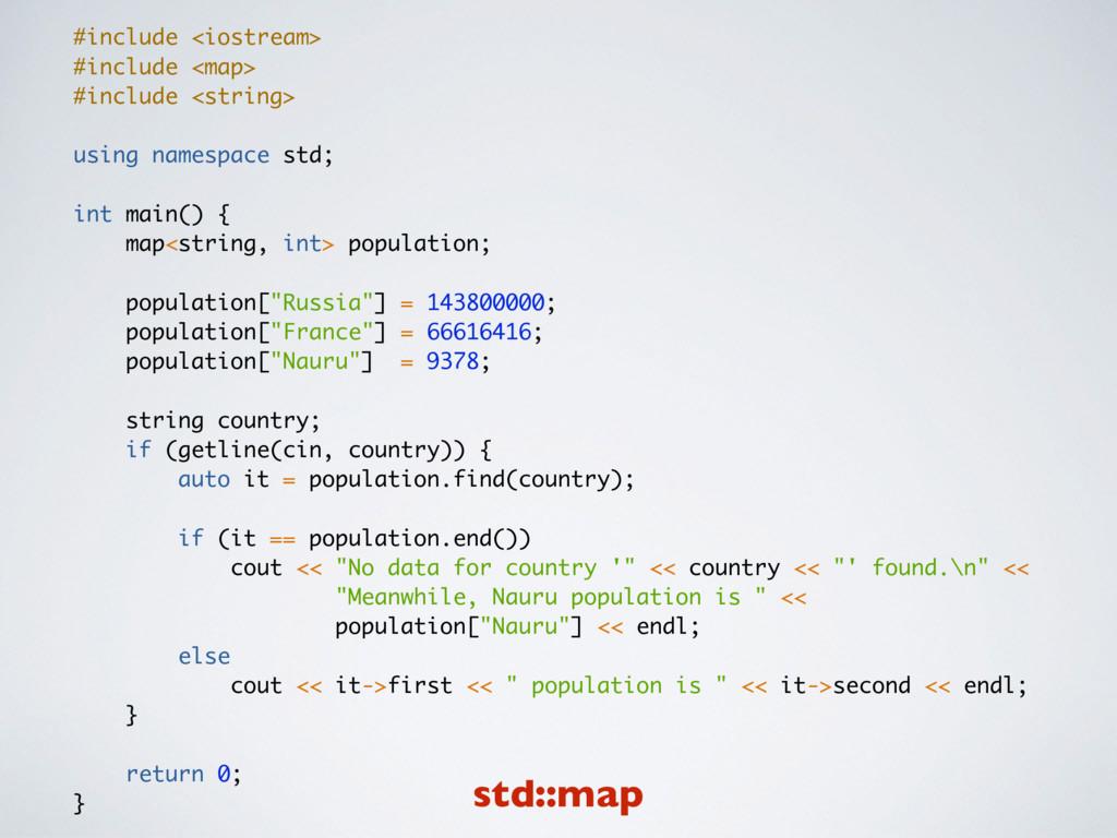 #include <iostream> #include <map> #include <st...