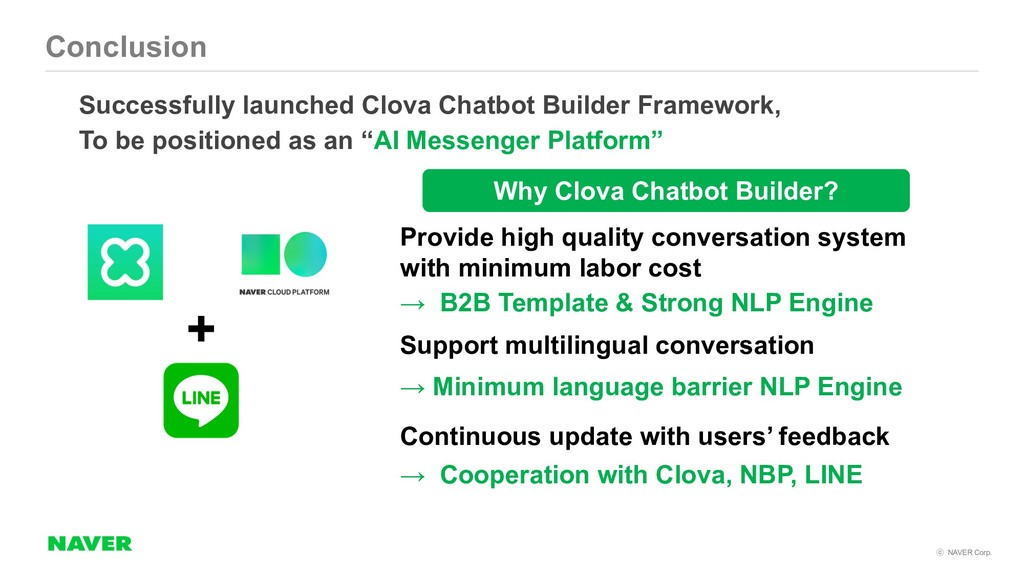 NAVER Corp. → Cooperation with Clova, NBP, LI...
