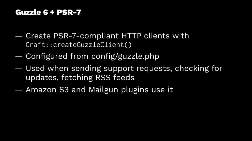 Guzzle 6 + PSR-7 — Create PSR-7-compliant HTTP ...
