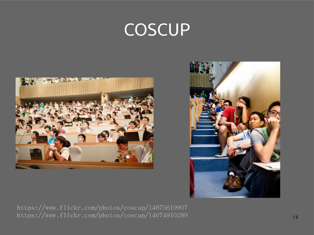 18 COSCUP https://www.flickr.com/photos/coscup/...
