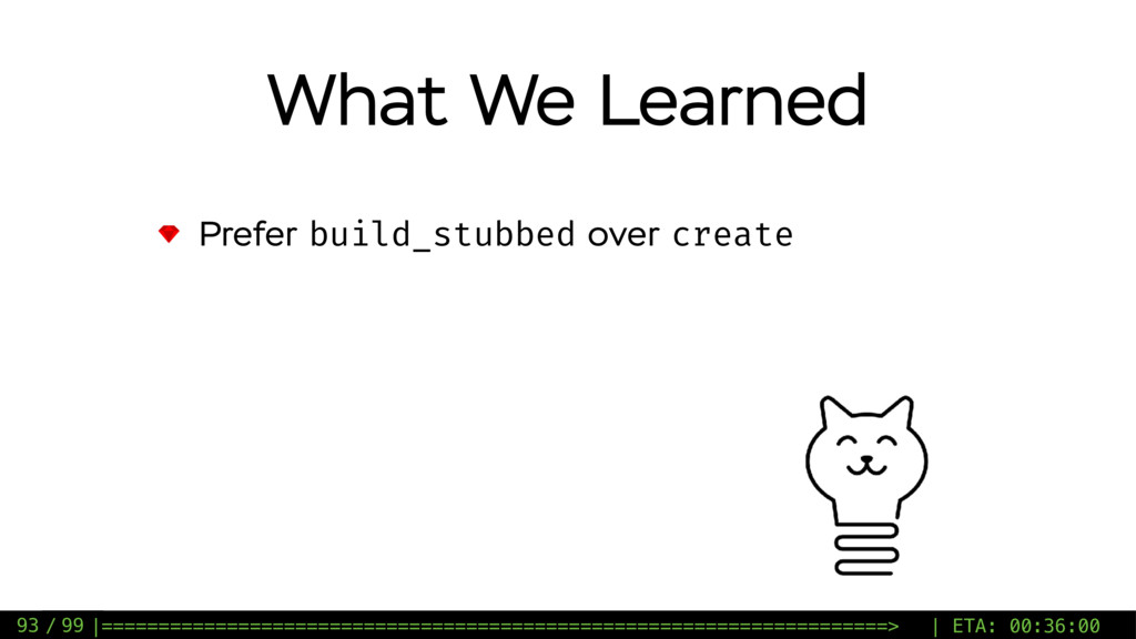 / 99 Prefer build_stubbed over create What We L...