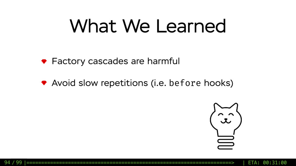 / 99 What We Learned Factory cascades are harmf...