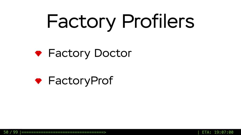 / 99 Factory Profilers Factory Doctor FactoryPro...