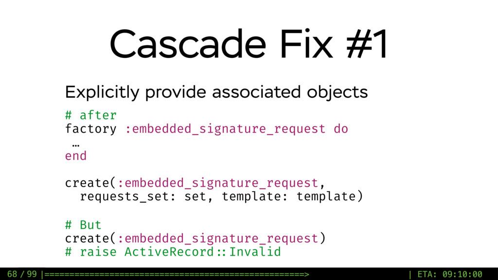 / 99 Cascade Fix #1 68 Explicitly provide assoc...