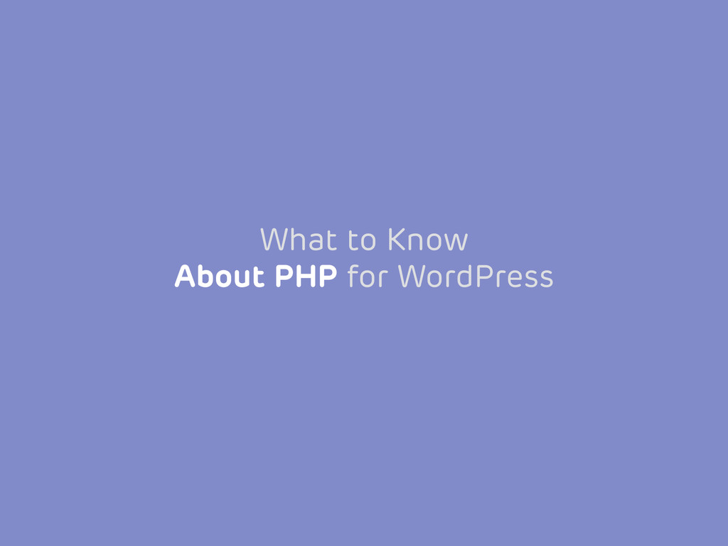 What to Know 