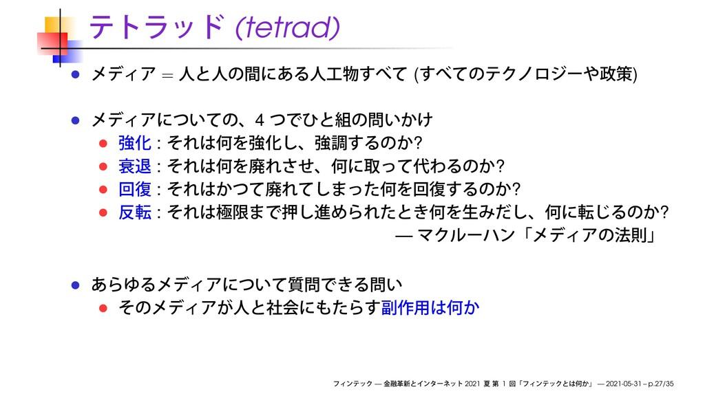 (tetrad) = ( ) 4 : ? : ? : ? : ? — — 2021 1 — 2...