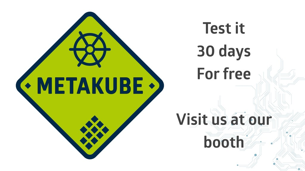 Test it 30 days For free Visit us at our booth